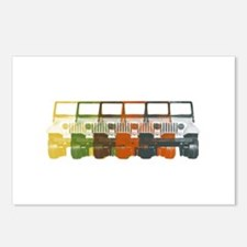 Chromatic Jeep Postcards (Package of 8)