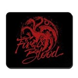 Got targaryen fire and blood Mouse Pads