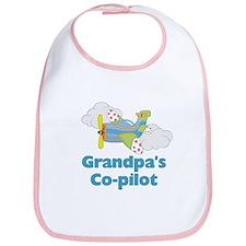 Grandpa's Copilot (boy) Bib