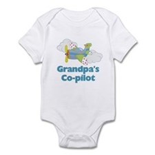 Grandpa's Copilot (boy) Infant Bodysuit