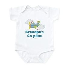 Grandpa's Copilot (boy) Onesie