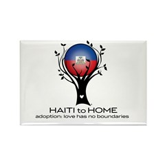 Haiti to Home Rectangle Magnet (10 pack)