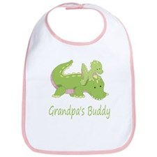 Grandpa's Buddy (Alligator) Bib