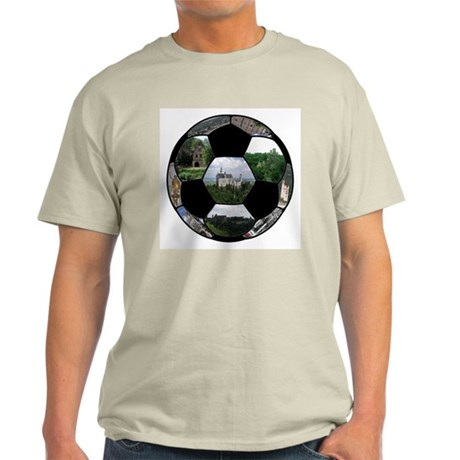 German Soccer Ball Light T-Shirt