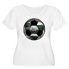 German Soccer Ball T-Shirt