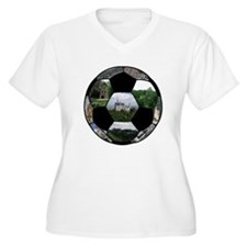 German Soccer Ball T-Shirt
