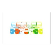 Bright Chromatic Jeep Postcards (Package of 8)