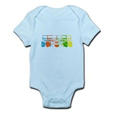 Bright Chromatic Jeep Infant Bodysuit