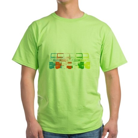 Bright Chromatic Jeep Green T-Shirt