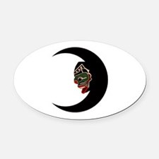THE NEW VISION Oval Car Magnet