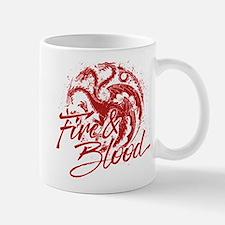 GOT Targaryen Fire And Blood Mugs