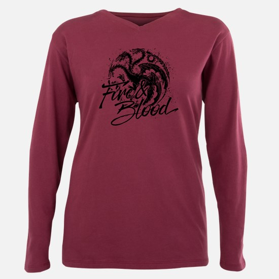 Cute Gameofthronestv Plus Size Long Sleeve Tee