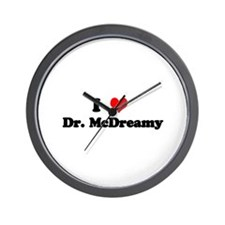 Grey's Dr. McDreamy Wall Clock