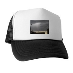 Grey Downpour of Light Trucker Hat