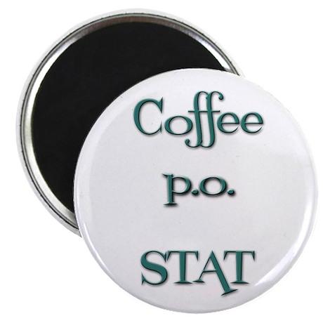 Coffe p.o. stat Magnet