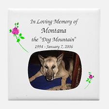 Rememberance Tile Coaster