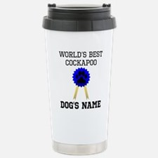 Cute Blue dogs Travel Mug