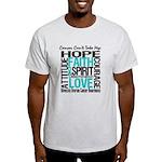 Ovarian Cancer Can't Light T-Shirt