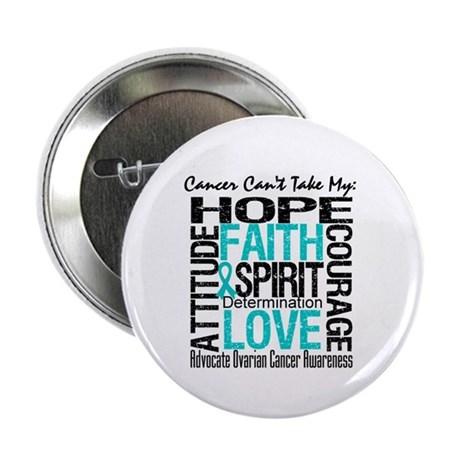 "Ovarian Cancer Can't 2.25"" Button (100 pack)"