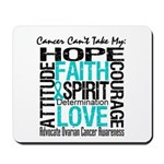 Ovarian Cancer Can't Mousepad