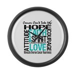 Ovarian Cancer Can't Large Wall Clock