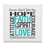 Ovarian Cancer Can't Tile Coaster