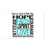 Ovarian Cancer Can't Postcards (Package of 8)