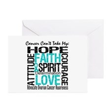 Ovarian Cancer Can't Greeting Cards (Pk of 20)