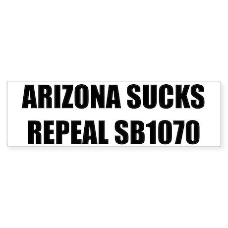 Sucks / Repeal Bumper Sticker White 50pk