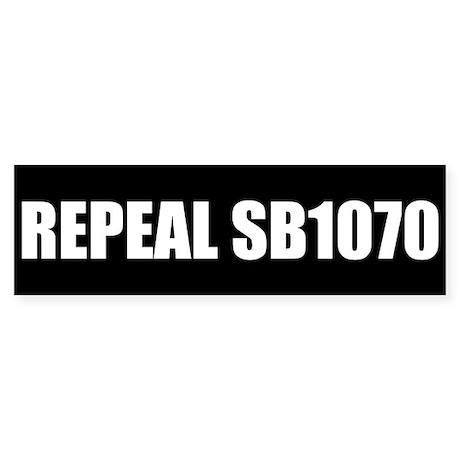 Repeal Bumper Sticker Black 50pk