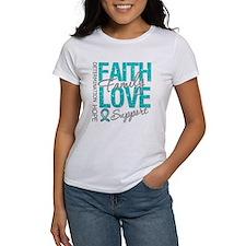 OvarianCancer Faith Tee