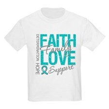 OvarianCancer Faith T-Shirt
