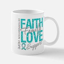 OvarianCancer Faith Mug