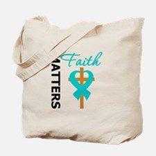 OvarianCancer Cross Tote Bag