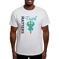 OvarianCancer Cross T-Shirt