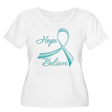OvarianCancer HopeBelieve T-Shirt