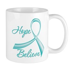 OvarianCancer HopeBelieve Mug