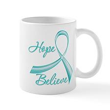 OvarianCancer HopeBelieve Small Mugs