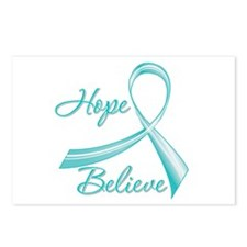 OvarianCancer HopeBelieve Postcards (Package of 8)