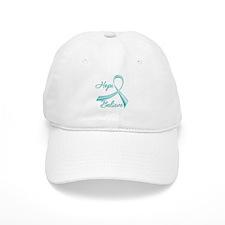 OvarianCancer HopeBelieve Baseball Cap