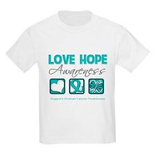 Ovarian Cancer LoveHope T-Shirt