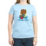 Preschool Teacher Bear Women's Light T-Shirt