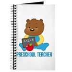 Preschool Teacher Bear Journal