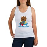 Preschool Teacher Bear Women's Tank Top