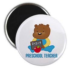 Preschool Teacher Bear Magnet