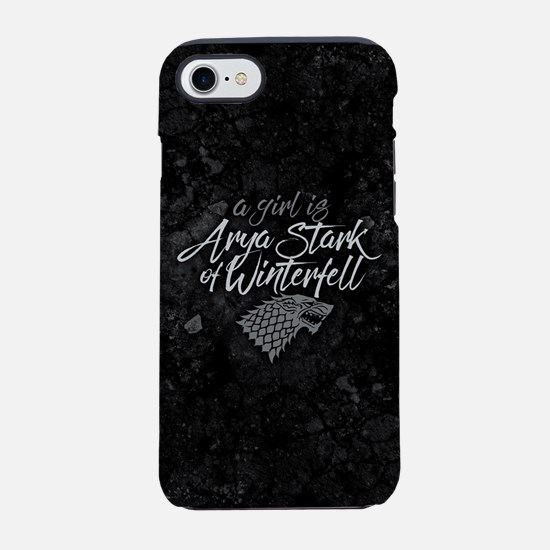 GOT A Girl Is Arya Stark iPhone 7 Tough Case