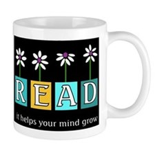 Read - It helps your mind gro Small Mugs