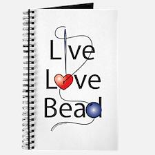 Live,Love,Bead Journal