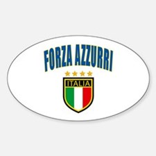 Forza Italia Sticker (Oval)