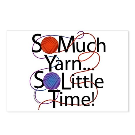 So Much Yarn..... Postcards (Package of 8)
